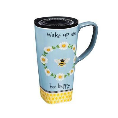 Wake up and Bee Happy Mug