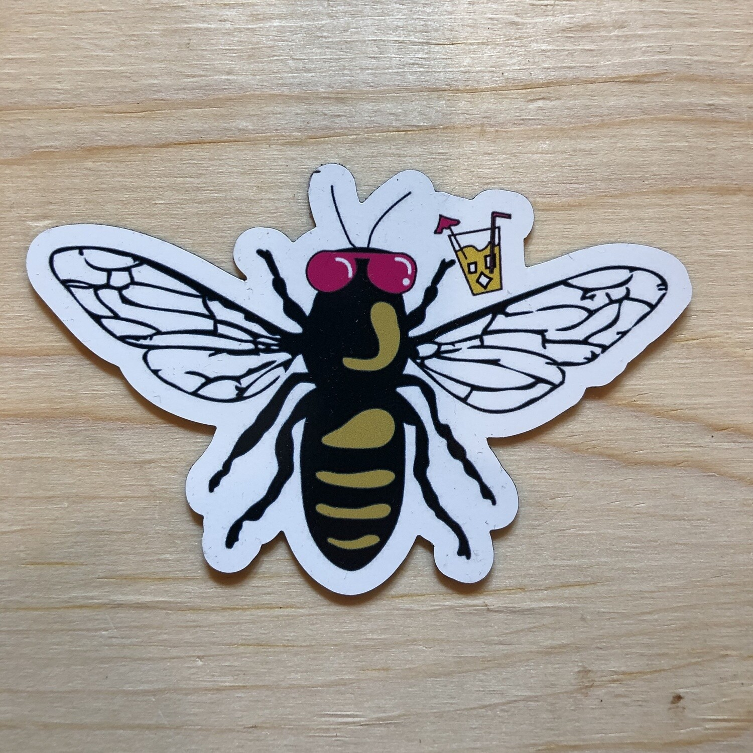 Party Bee Magnet
