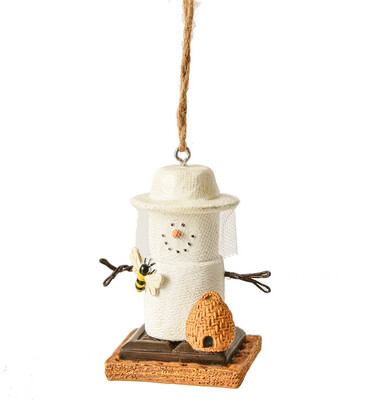 Smore Bee Keeper Ornament