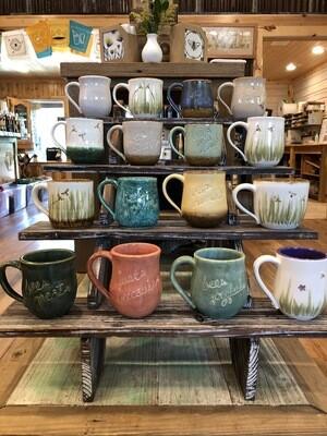 Living Water Pottery Mug
