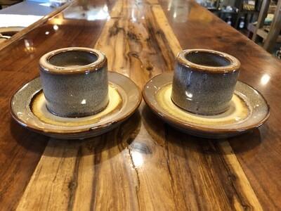 Stoneware Tealight/Taper Holder