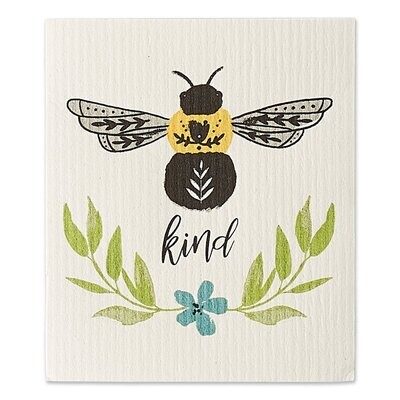 Bee Kind Swedish Dishcloth
