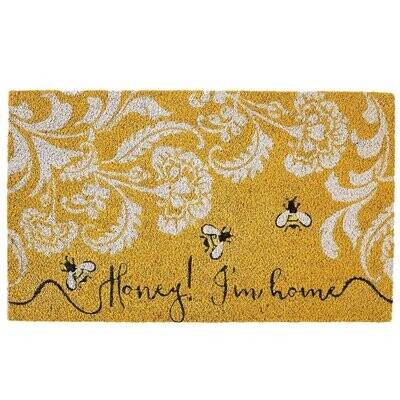 Honey I'm Home Doormat - In-store Pickup Only