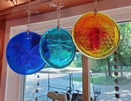Blenko Glass Suncatcher