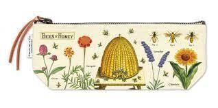 Bees & Honey Vintage Mini Pouch