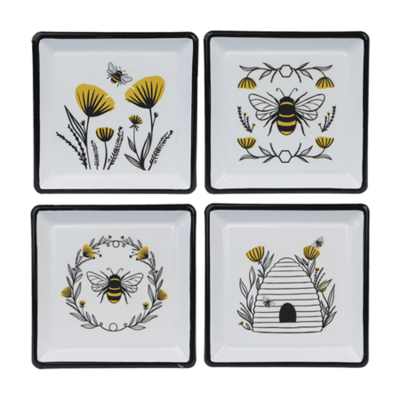 Bee Flower Trinket Dish