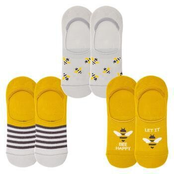 No Show Bee Socks