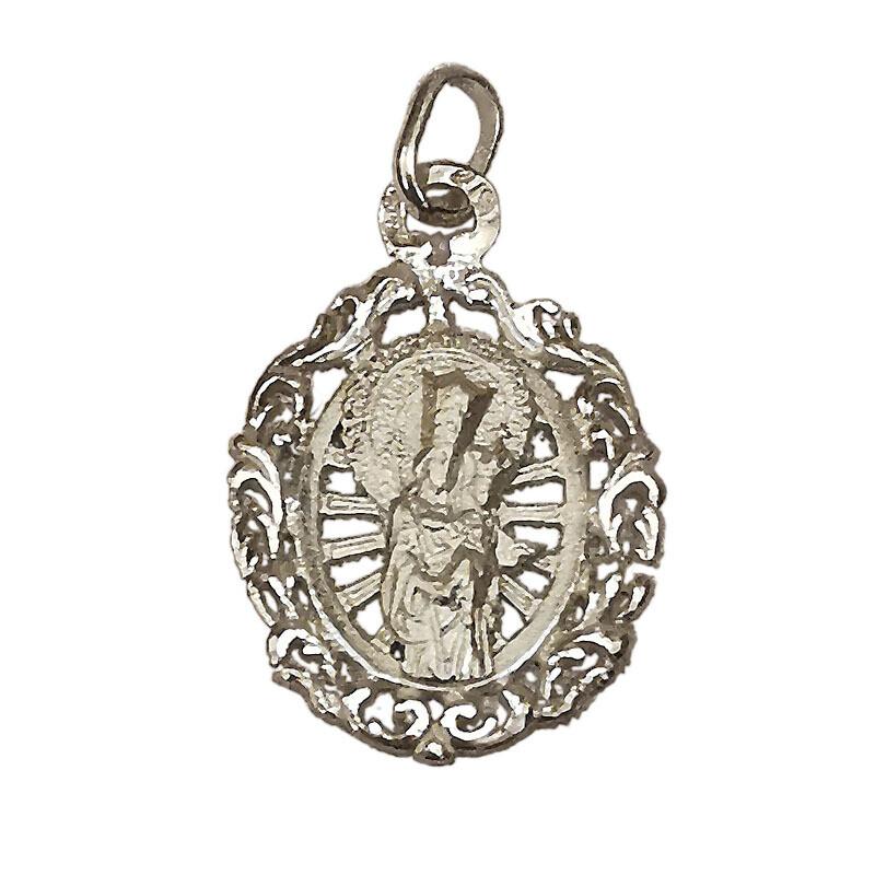 Medalla San José de la Montaña sobre rayos de sol