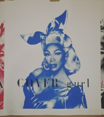 Rupaul Cover gurl unframed