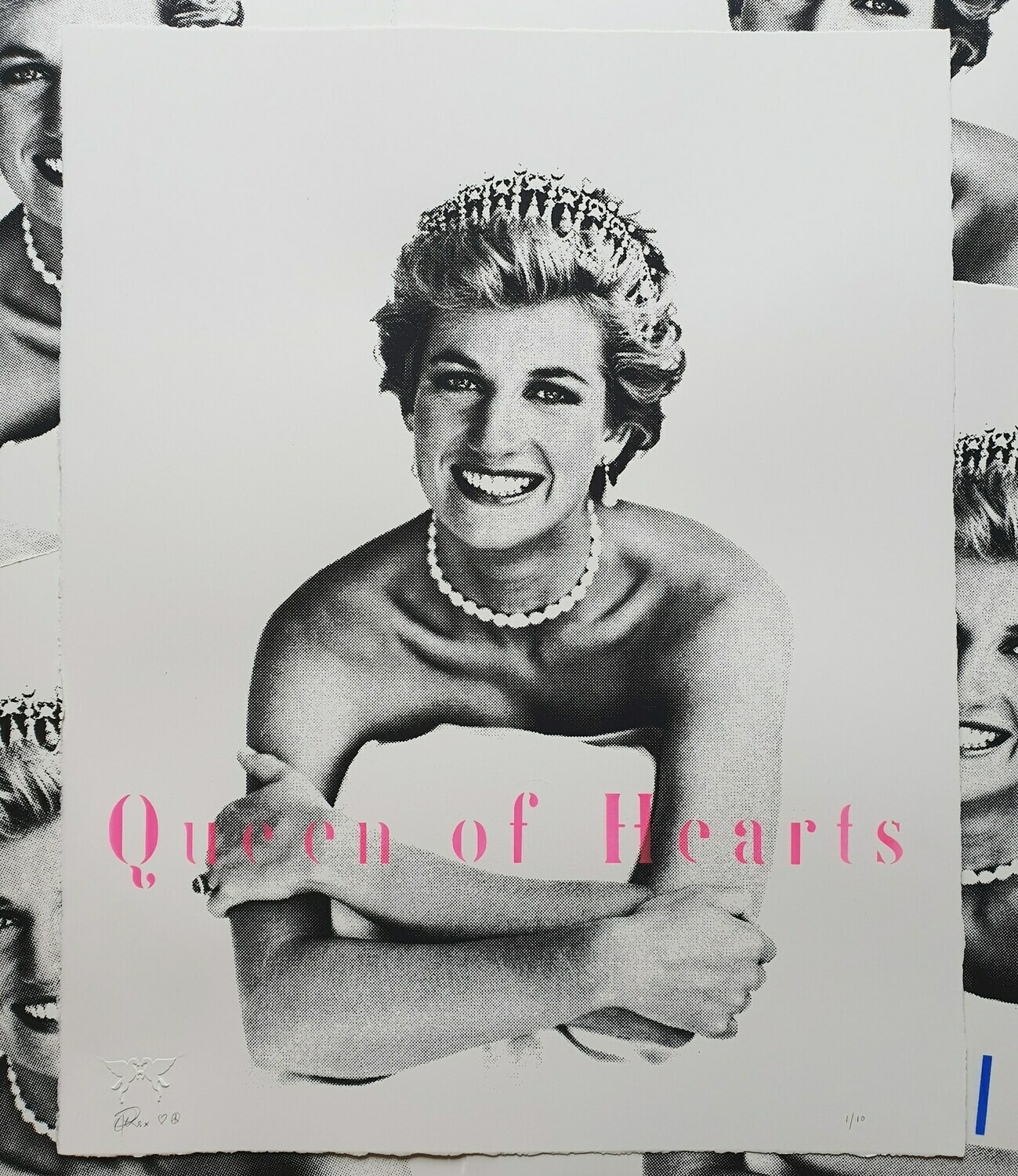 "Princess Diana ""Queen of Hearts"""