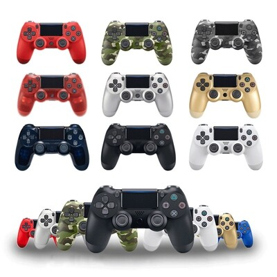 Suitable for PS4 controller Bluetooth vibration game board Suitable for Playstation Dualshock 4 wireless controller works with PS5, PS4, PS3 & PC