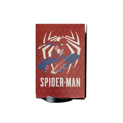 Spiderman Playstation 5 Console and Controller covers