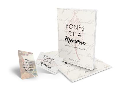 BONES OF A MÉMOIRE Journal & Prompt Deck Set