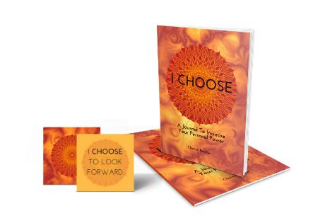 I CHOOSE Self-Empowerment Card Deck & Journal Set