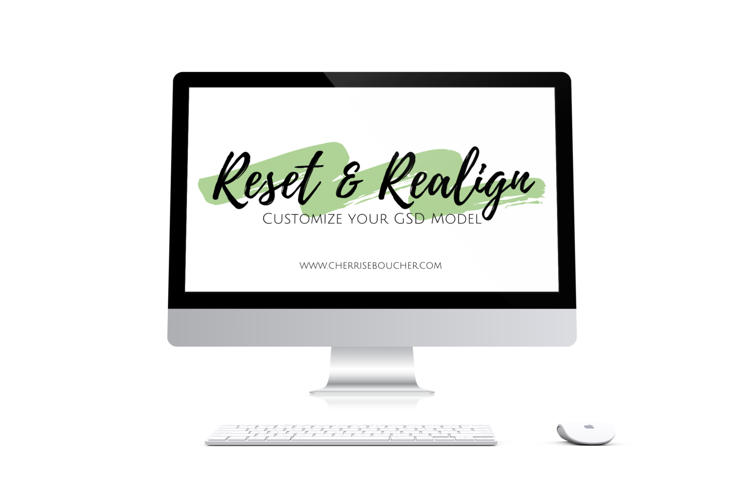 Reset & Realign  - Customize Your GSD Model Kit
