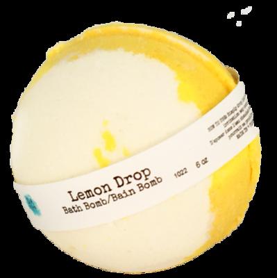 Bath Bomb 6oz Lemon Drop