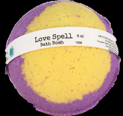 Bath Bomb 6oz Love Spell