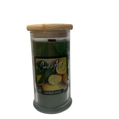 Barnwick Candle 16oz Citrus Sage