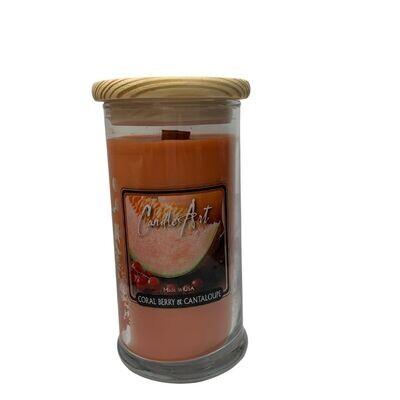 Barnwick Candle 16oz Coral Berry & Cantaloupe
