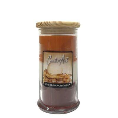 Barnwick Candle 16oz Trifecta Apple/Cinnamon/Vanilla