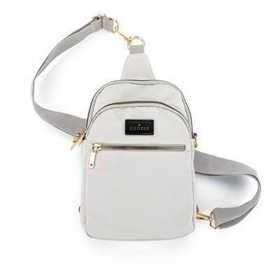 Kedzie Convertible Sling Bag Grey