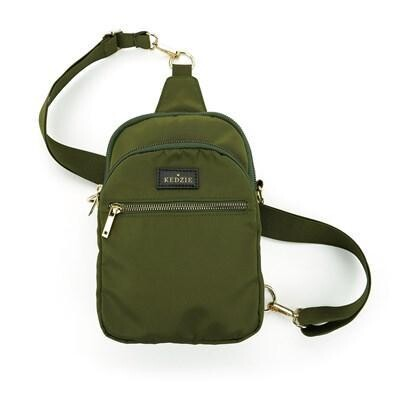 Kedzie Convertible Sling Bag Olive
