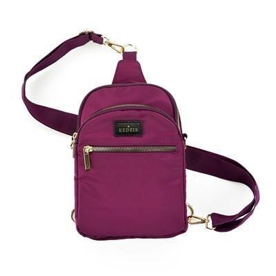 Kedzie Convertible Sling Bag Purple