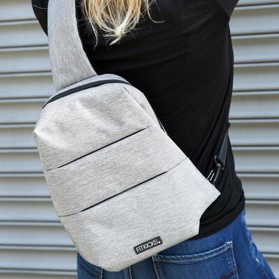 Fitkicks Sling Bag Grey