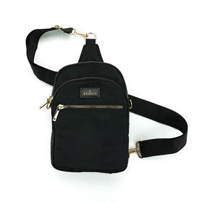 Kedzie Convertible Sling Bag Black