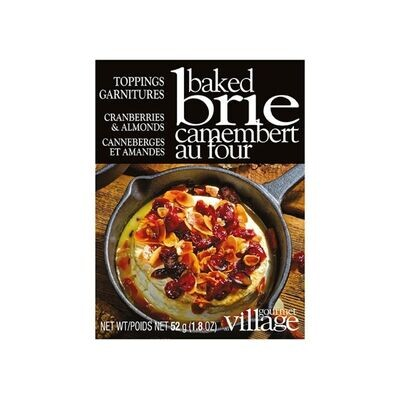 Brie Topping Cranberry Almond