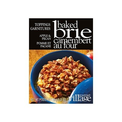 Brie Topping Apple Pecan