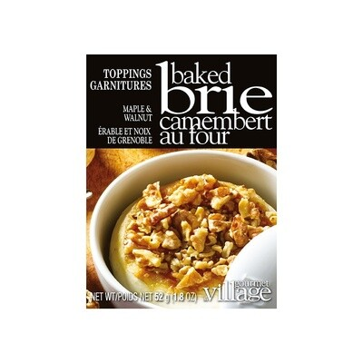 Brie Topping Maple Walnut