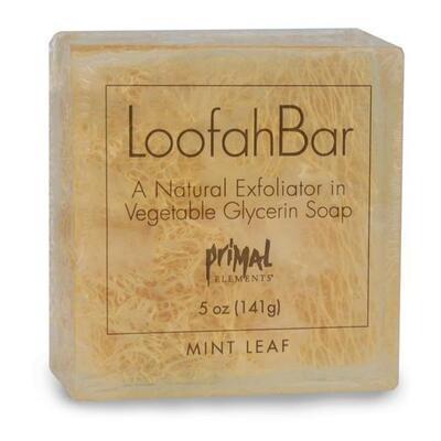 Loofah Bar Mint Leaf