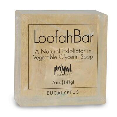 Loofah Bar Eucalyptus