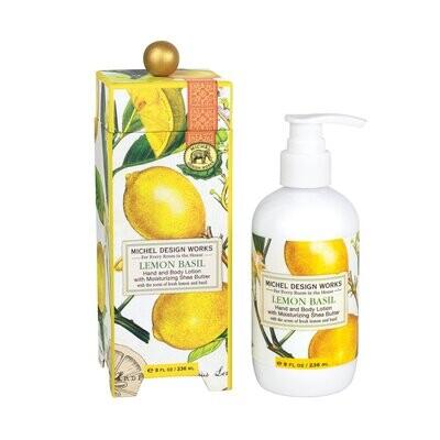 Lemon Basil Lotion