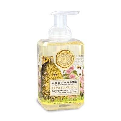 Honey & Clover Foaming Soap