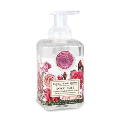 Royal Rose Foaming Soap