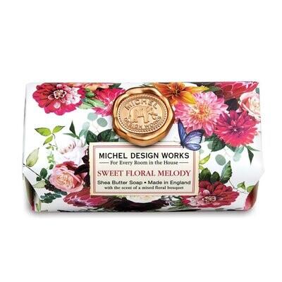 Sweet Floral Melody Bath Soap Bar