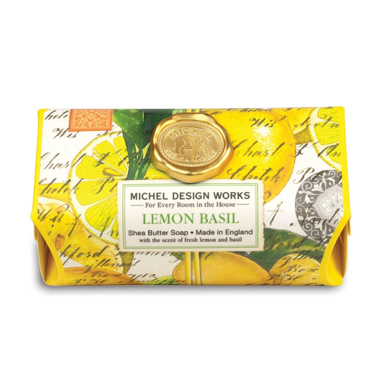 Lemon Basil Bath Soap Bar