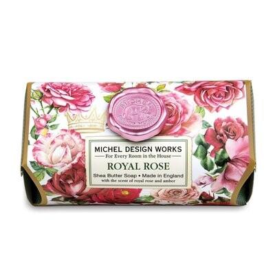 Royal Rose Bath Soap Bar
