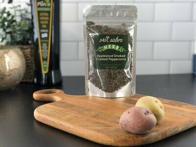 Applewood Smorked Cracked Peppercorns 2.5oz