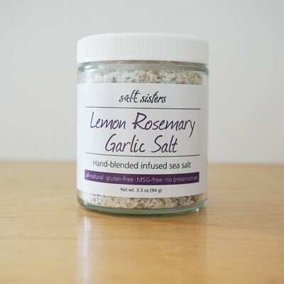 Salt 3.3oz Lemon Rosemary Garlic