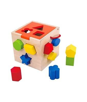 Tooky Toy Shape Sorter Cube