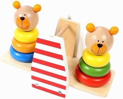 Tooky Toy Bear Balance Stacker
