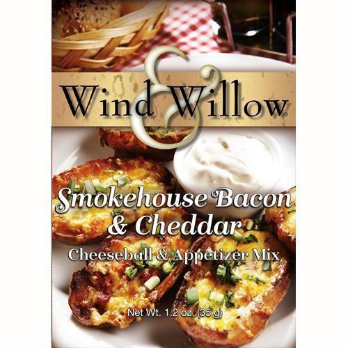 W&W Cheeseball Mix Smokehouse Bacon