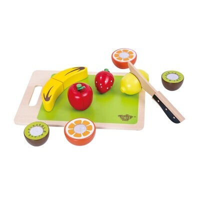 Tooky Toy Cutting Fruit 14pc