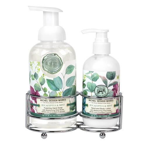 Eucalyptus & Mint Handcare Caddy
