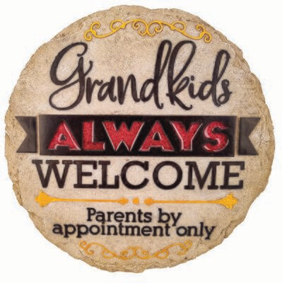Stepping Stone Grandkids Welcome