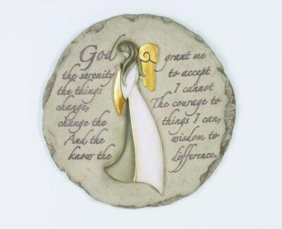 Stepping Stone Angel Serenity Prayer