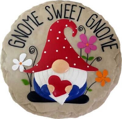 Stepping Stone Gnome Sweet Gnome
